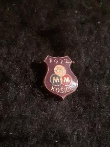 Odznak MEZINÁRODNÍ MARATÓN MIERU KOŠICE 1972
