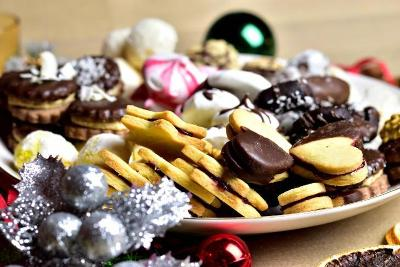 Vánoční máslové cukroví