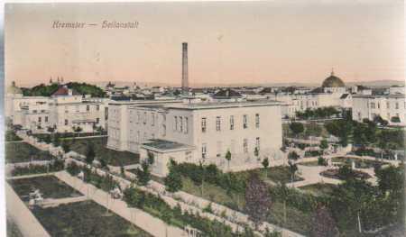 Kroměříž / Kremsier, továrna, barevná