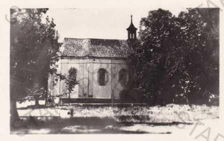 Veselá hora, Domažlice, kostel sv.Vavřince