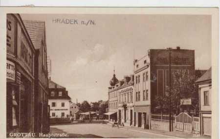 Hrádek nad Nisou (Grottau), Hauptstrasse