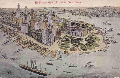 NEW YORK - PANORAMA -241-SQ26