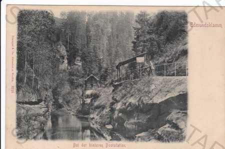 Edmundova soutěska (Edmundsklamm), Č.Švýcarsko, př