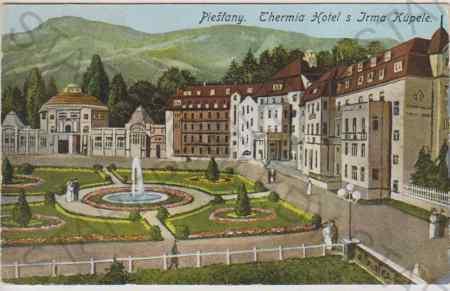Piešťany, Thermia Hotel s Irma Kúpele, barevná