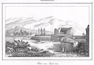 Patras II., Le Bas, oceloryt 1840
