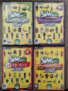 PC hry - The Sims 2 doplňky - CZ