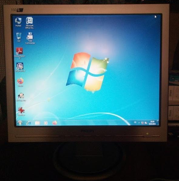 """15"""" PHILIPS 150S5FS 1024x768 VGA PLNĚ FUNKČNÍ KABELY V CENĚ PRAHA 8 - Příslušenství k PC"""