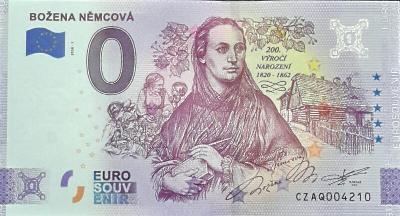 0 Euro BOŽENA NĚMCOVÁ ANNIVERSARY