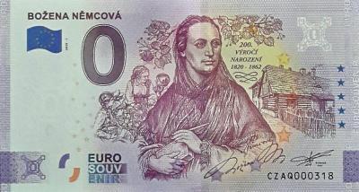 0 Euro BOŽENA NĚMCOVÁ nízké číslo 318 !!!