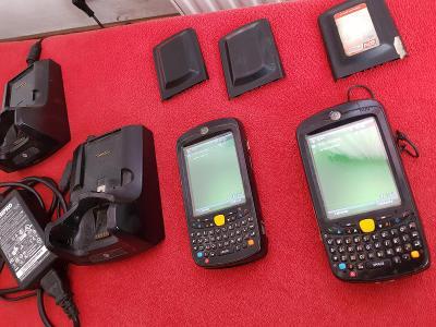 2x dotyková čtečka čarových kódů Motorola MC5590 PC 80.000Kč