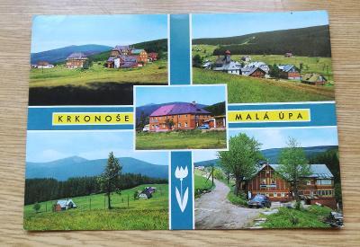 Pohled  Krkonoše - Malá Úpa