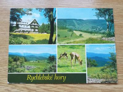 Pohled  Rychlebské Hory