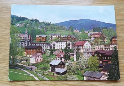 Pohled  Krkonoše - Jánské lázně