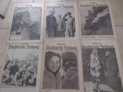 Sbírka válečných časopisů