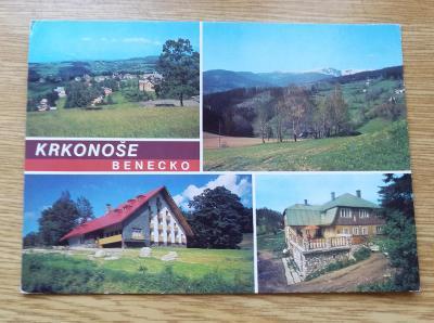 Pohled   Krkonoše - Benecko