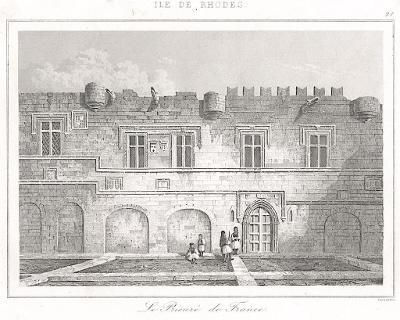 Rhodos Prieure de France, Le Bas, oceloryt 1840