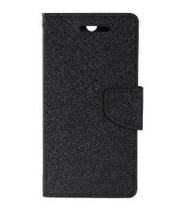 Pouzdro flipové Fancy LG Q6 černé