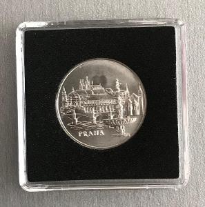 🌶Stříbrná mince 50 Koruna 1986 město Praha, Perfektní stav !