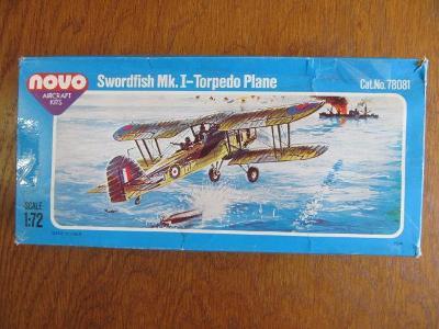 Swordfish Mk.I-Torpedo Plane Novo 1:72