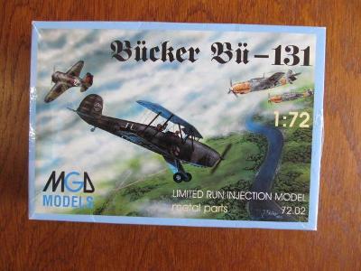 Bücker Bü-131 MGD models 1:72