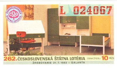 Los ČSL 1983   GALANTA