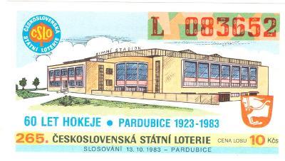 Los ČSL 1983 PARDUBICE