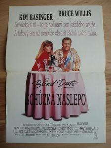Schůzka naslepo (filmový plakát, film USA 1987, režie B