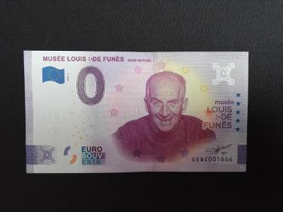 LOUIS DE FUNES, FRANCIE (2020), UNC,VZÁCNÁ,NEDOSTUPNÁ! NOVÝ DESIGN.