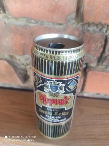 Stará plechovka Topvar 1997 500ml
