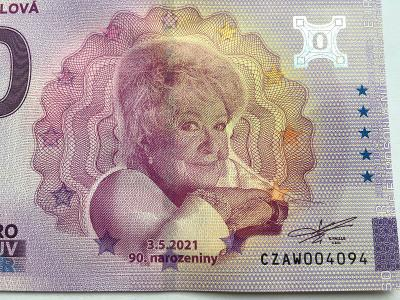 Jiřina Bohdalová Euro souvenir 2021 - vyprodáno