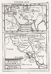 Asýrie, Mallet, mědiryt, 1719