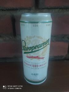 Stará plechovka Staropramen 1995