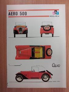 ABC modelářům - AERO 500
