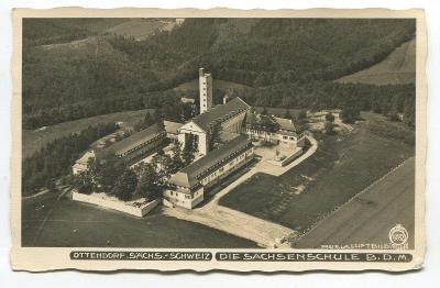 SASKÉ ŠVÝCARSKO-OTTENDORF, Německo, - Die Sachsenschule B.D.M. SEBNITZ