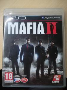 PS3 Mafia 2 CZ - český dabing + mapa TOP STAV jako nová