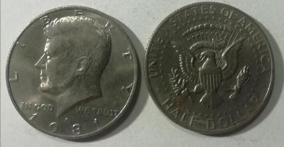 Kennedy Half Dollar 1981 P (Philadelphia)