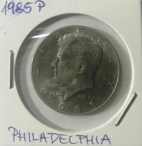 Kennedy Half Dollar 1985 P (Philadelphia)