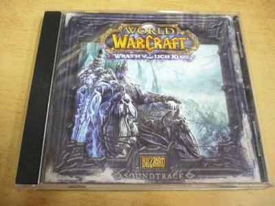 CD WORLD OF WARCRAFT / Wrath of the LICH KING Soundtrack
