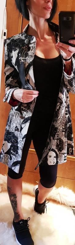 DESIGUAL extravagantní luxusní kabátek// 42/M NOVÝ 1,- LUXUS
