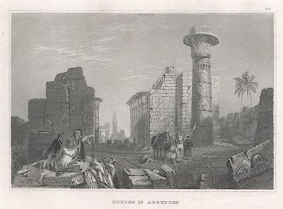 Theben, Meyer, oceloryt, 1850