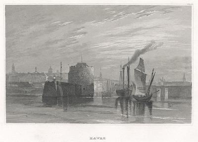 Havre, Meyer, oceloryt, 1850