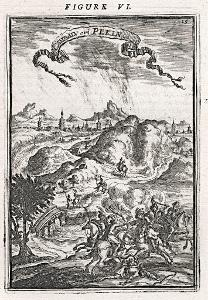 Peking, Mallet, mědiryt, 1719