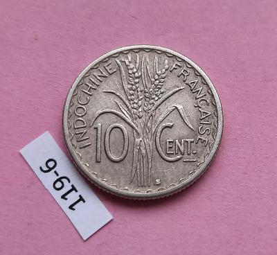 Francouzská indočína 10 cent 1941