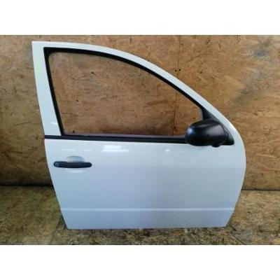 Skoda Fabia I HB 99- drzwi przednie prawe białe