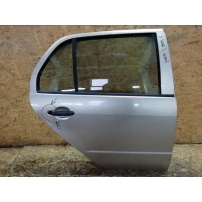 Skoda Fabia I Sedan 99- drzwi tylne prawe srebrne