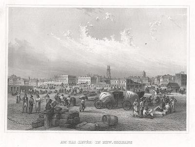 New Orleans Kai, Meyer, oceloryt, 1850