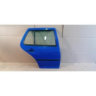 VW Golf IV HB 97- drzwi tylne prawe niebieskie