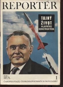 Reportér, ročník I./1966, číslo 1. Časopis Svazu čes