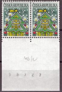 POF. 99 - VÁNOCE 1995 - KRAJOVÁ DVOJPÁSKA S DV 46/2 (S3210)
