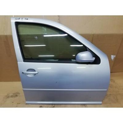 VW Golf IV 97- drzwi przednie prawe srebrne